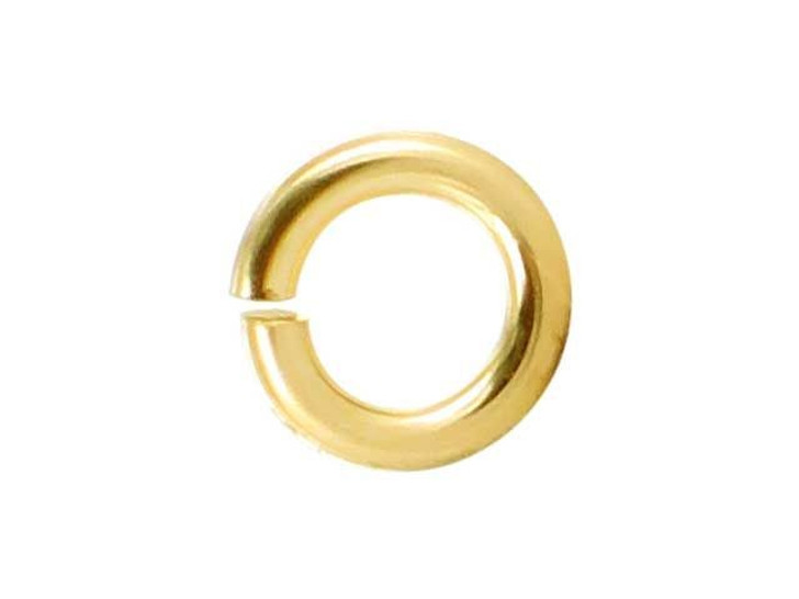 Gold-Filled 14K/20 Open Jump Ring 0.050 x .240 inches (1.27 x 6.0mm)