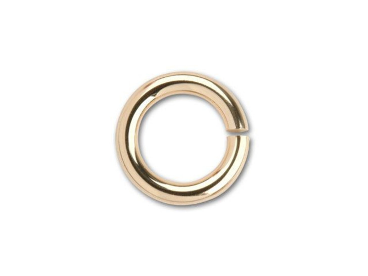 Gold-Filled 14K/20 Open Jump Ring 5.8mm x .040 inches