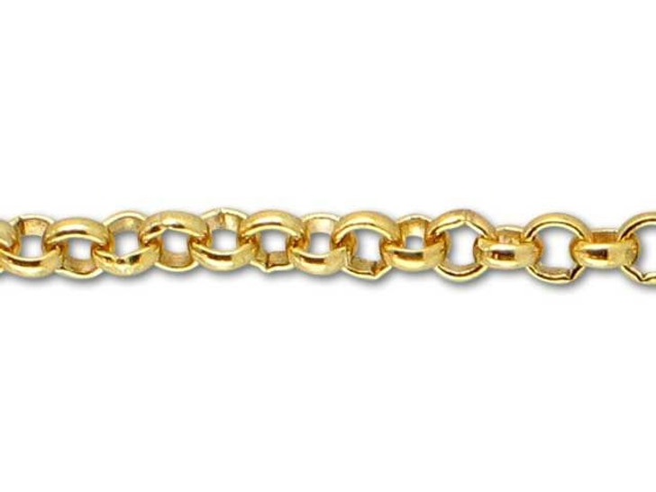 Gold-Filled 14K/20 Rollo Chain (2.25mm) by the Foot
