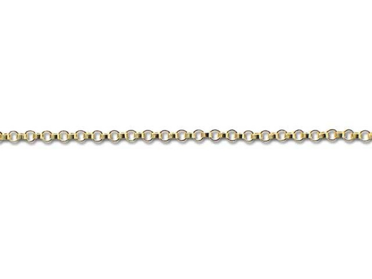 Gold-Filled 14K/20 Rollo Chain by the Foot