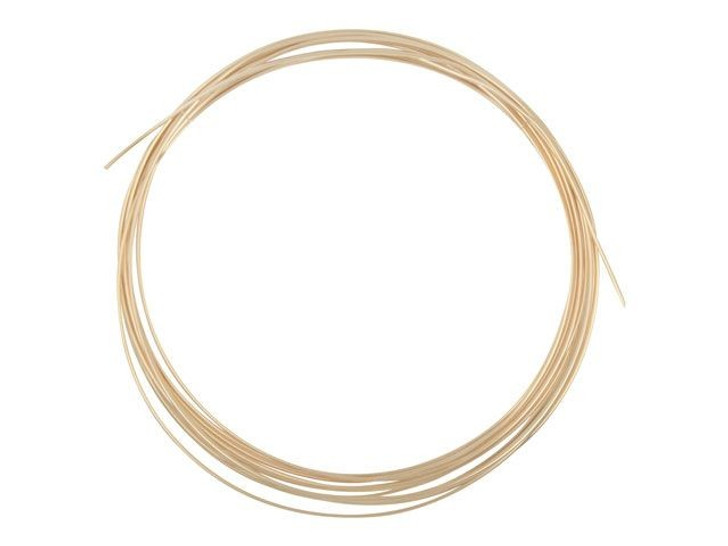 Gold-Filled 14K/20 Wire, Round 20 Gauge Half-Hard Approx. 1/2 Troy Oz.
