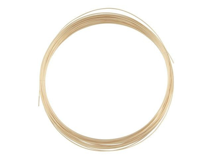 Gold-Filled 14K/20 Wire, Round 24 Gauge Half-Hard Approx. 1/2 Troy Oz.