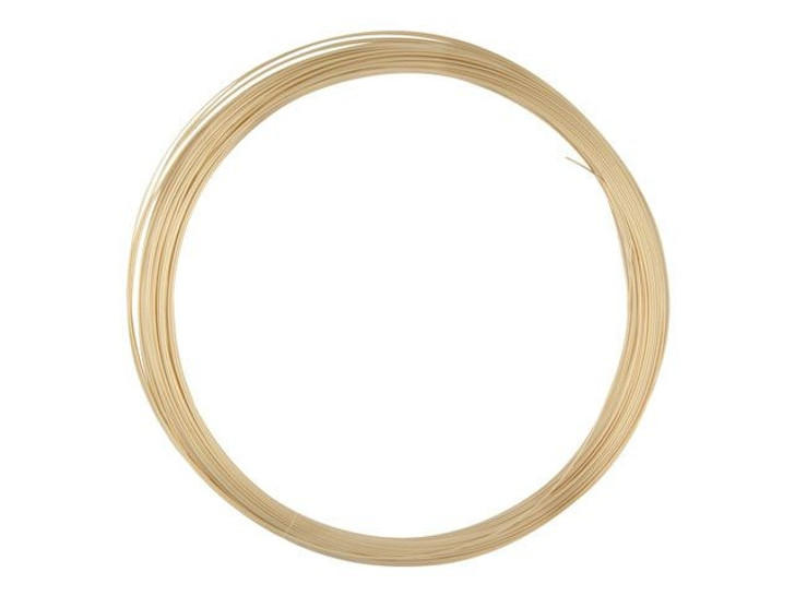 Gold-Filled 14K/20 Wire, Round 26 Gauge Half Hard-Approx. 1 Troy Oz.
