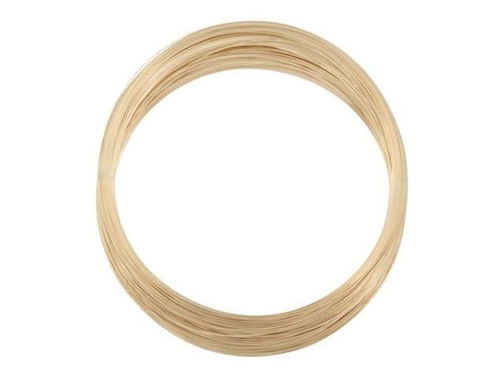 Gold-Filled 14K/20 Wire, Round 28 Gauge Half Hard-Approx. 1 Troy Oz.