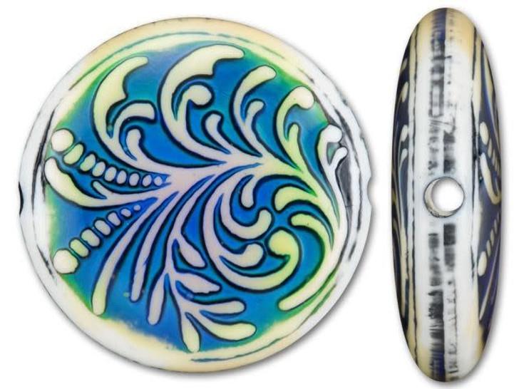 Mirage Mood Fountain Fern Coin Bead