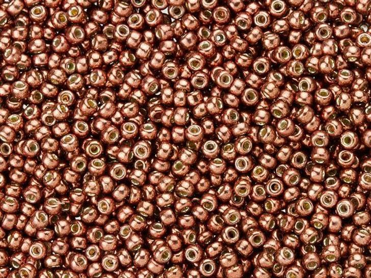 Miyuki 11/0 Round Seed Beads - Duracoat Galvanized Dark Berry 2.5-Inch Tube