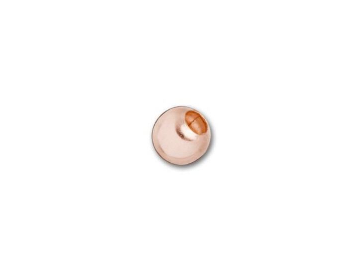 Rose Gold-Filled 14K/20 3mm Round Bead