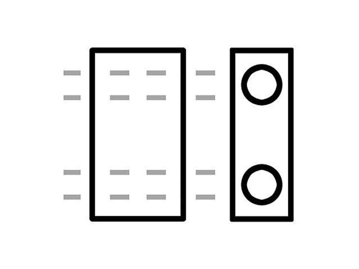 Miyuki 5x2.3mm Metallic 24K Gold Plated Half Tila Bead 8g Pack
