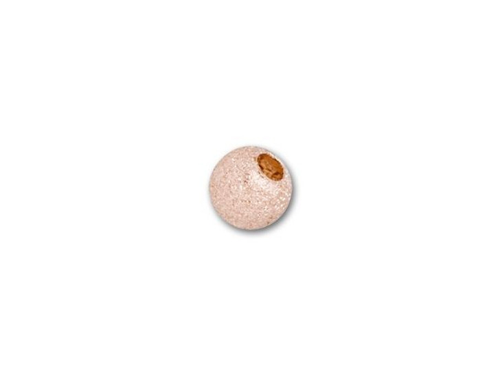Rose Gold-Filled 14K/20 3mm Stardust Round Bead