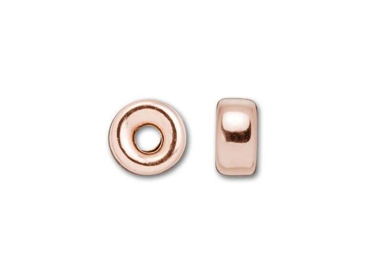 Rose Gold-Filled 14K/20 4mm Roundel Bead