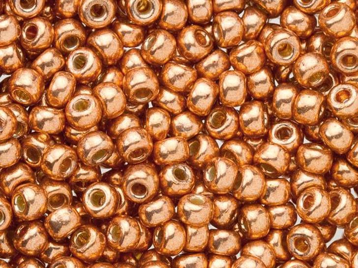Miyuki 8/0 Round Seed Beads - Duracoat Galvanized Muscat 2.5-Inch Tube
