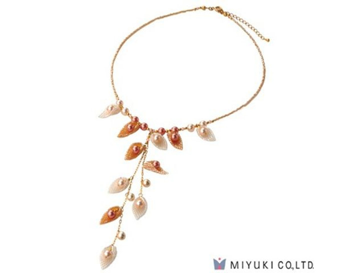 Miyuki Moon Shell Necklace Kit