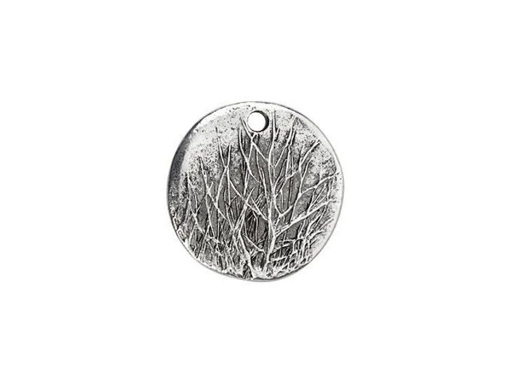 Nunn Design Antique Silver-Plated Pewter Rocky Mountain Charm