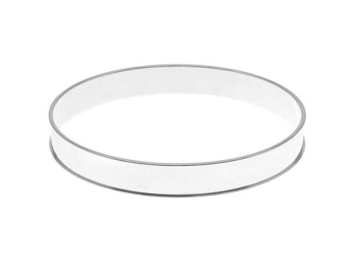 Nunn Design Bright Fine Silver-Plated Brass Channel Bangle Bracelet
