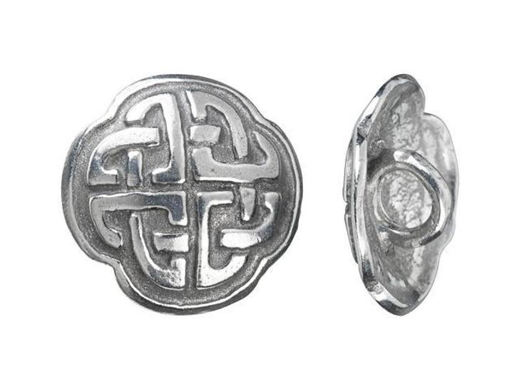 16mm Antique Pewter Celtic Knot Button