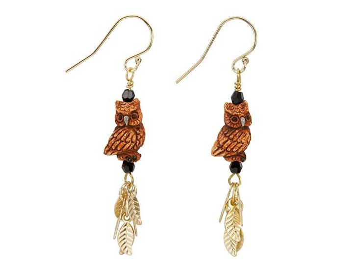 Owl's Eve Earrings Kit