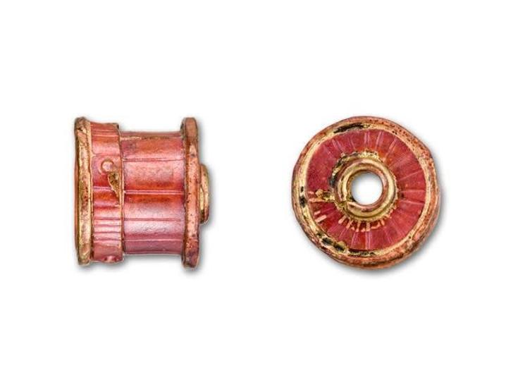 Patricia Healey Copper Small Drum End Cap