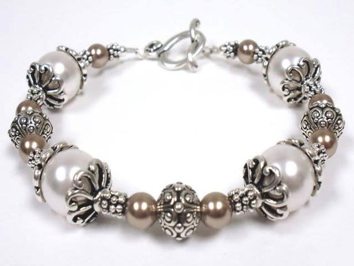 Pearl Cap Bracelet Kit