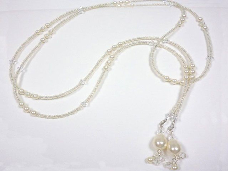 Pearl Drop Lariat Kit