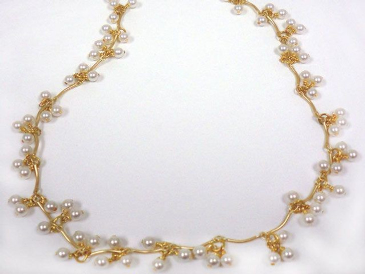 Pearl Droplets Necklace Kit