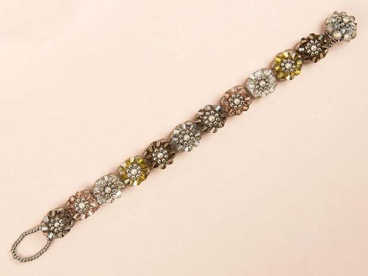 Pebbles Blooming Crystals Bracelet Kit