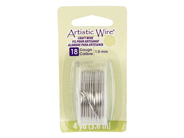 18-Gauge Stainless Steel Artistic Wire, 4-Yard Spool