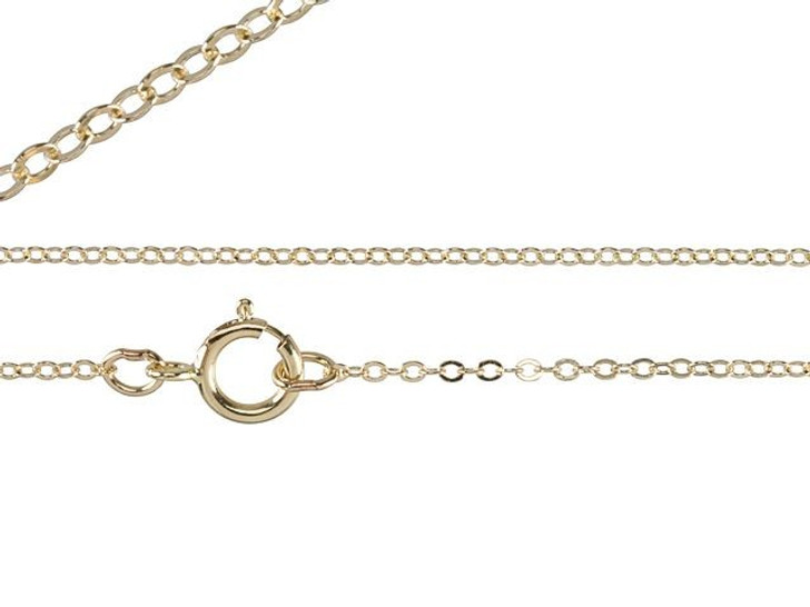 18-Inch Gold-Filled Fine Chain Necklace