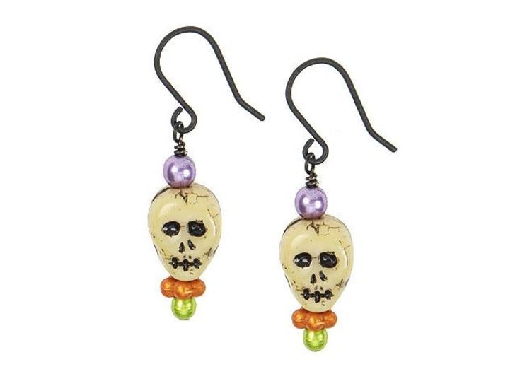 Scaredy Skull Earring Kit