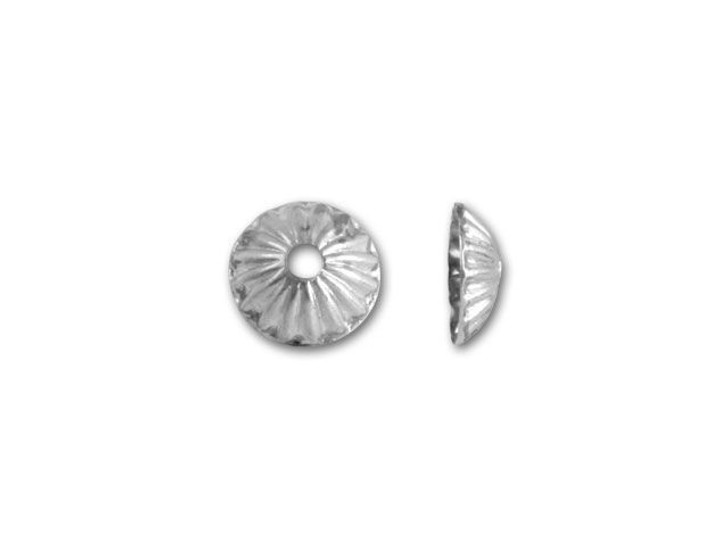 Silver-Plated Small Bead Cap