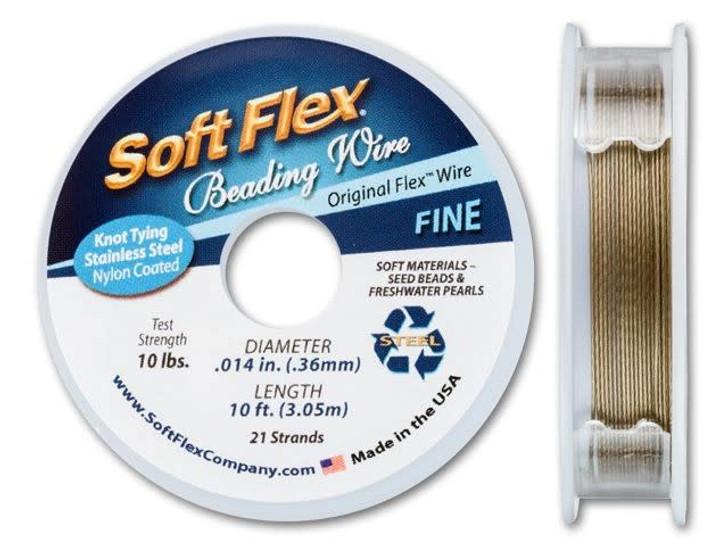 Soft Flex .014 Fine 10FT Golden Bronze