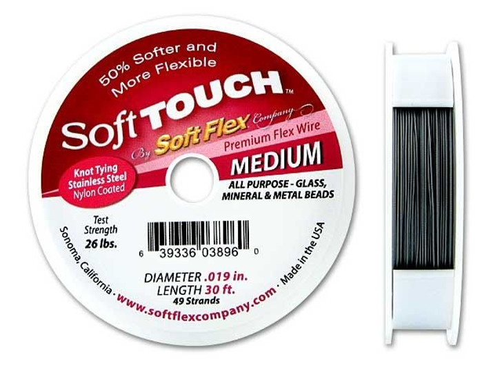 Soft Touch .019 Medium 30FT (Silver Satin)