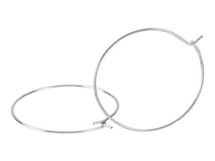 Stainless Steel 30mm Hoop Earring (Pair)