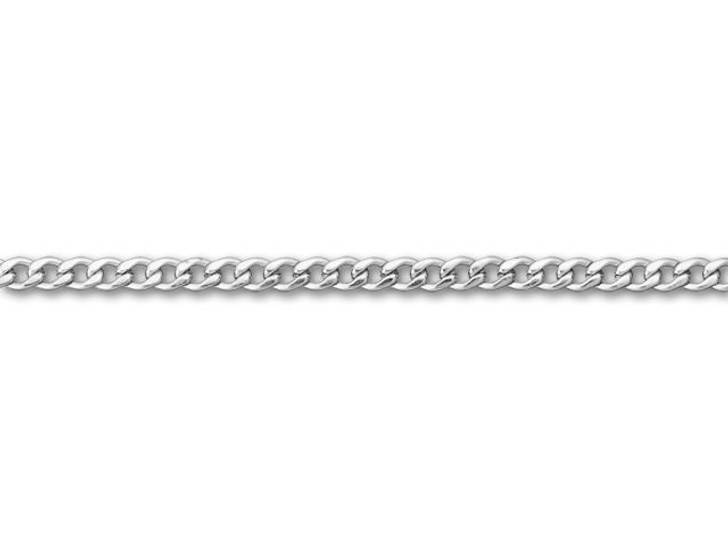 Stainless Steel 3mm Curb Chain by the Foot