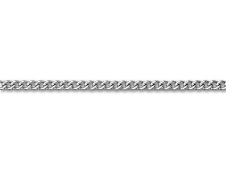 Stainless Steel 3mm Twisted Curb Chain by the Foot