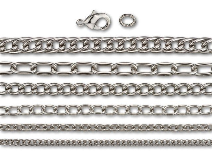 Stainless Steel Chain Jewelry Kit