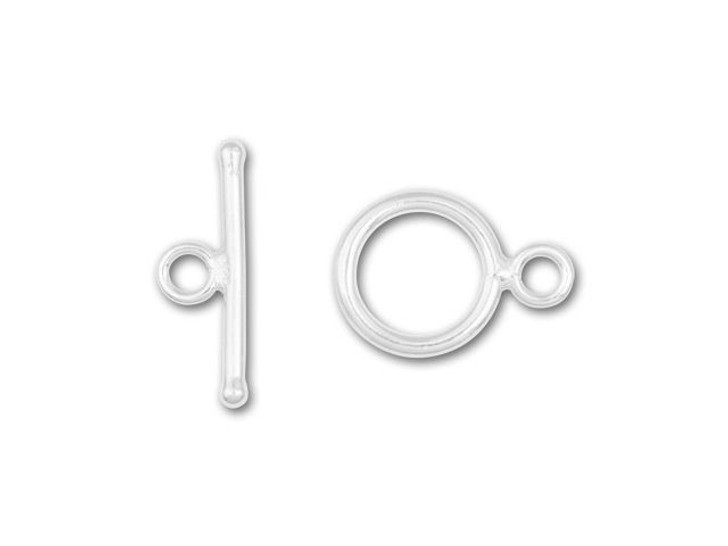 Sterling Silver 11mm Toggle Clasp