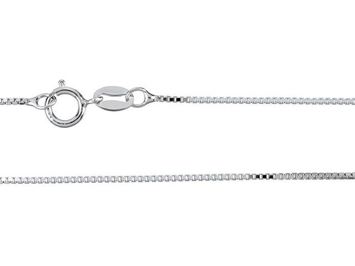 Sterling Silver 16-Inch Box Chain Necklace