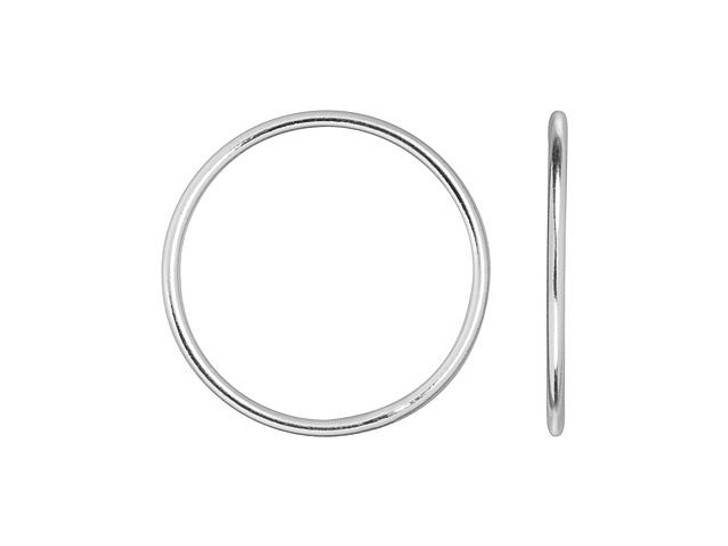 Sterling Silver 1x18mm Stacking Ring