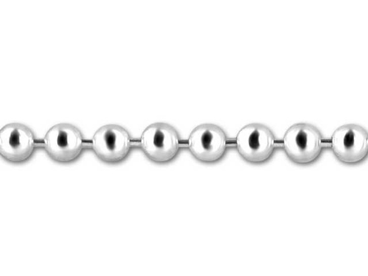 Sterling Silver 2.5mm Ball Chain by the Foot