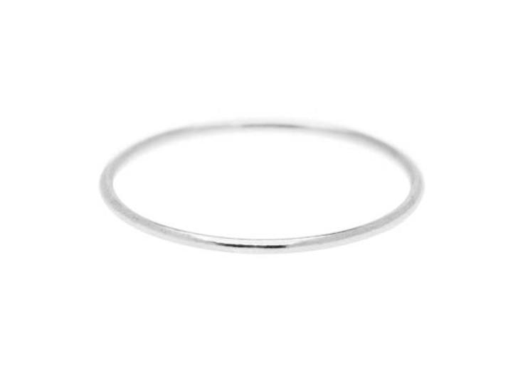 Sterling Silver 20mm 18 gauge Stacking Ring