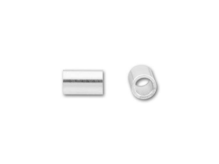 Sterling Silver 3 x 2mm Crimp Tube