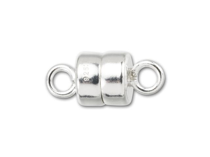 Sterling Silver 4mm Magnetic Clasp