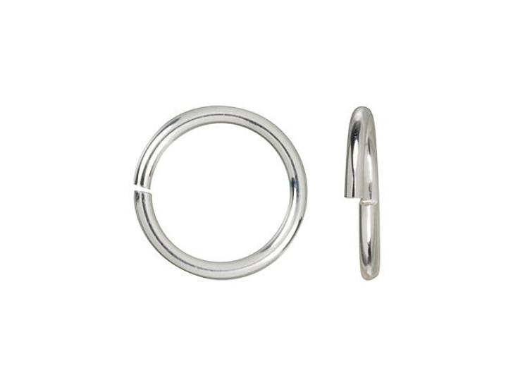 Sterling Silver 7mm 20.5 gauge Open Round Jump Ring