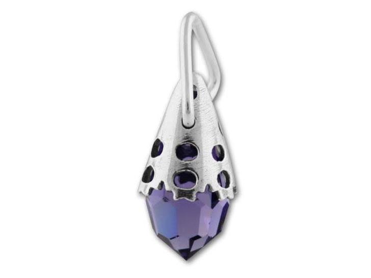 Sterling Silver Bead Cap for 13mm 6000 Teardrop