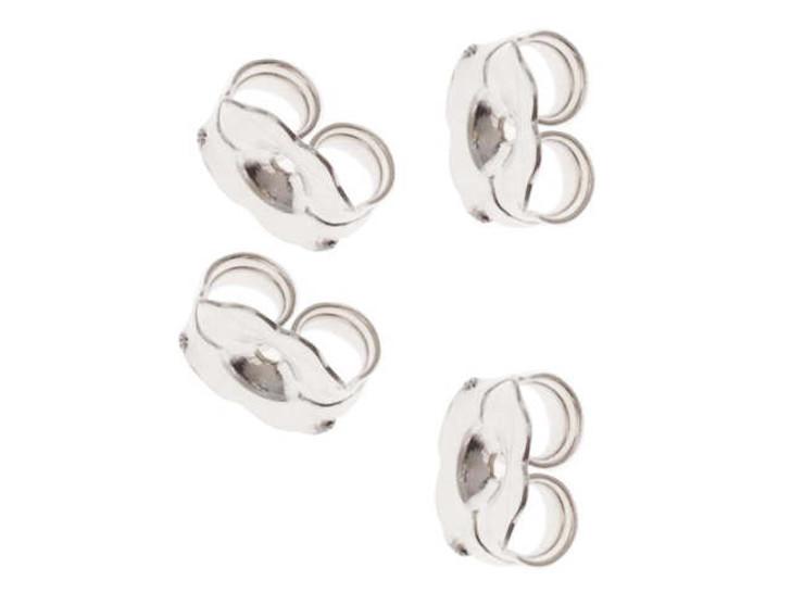 Sterling Silver Earring Back - Heavy