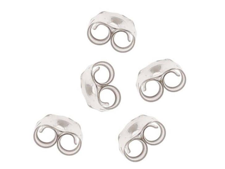 Sterling Silver Earring Back - Medium