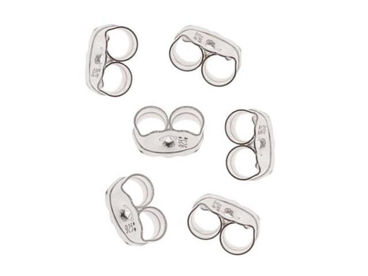Sterling Silver Earring Back-Light