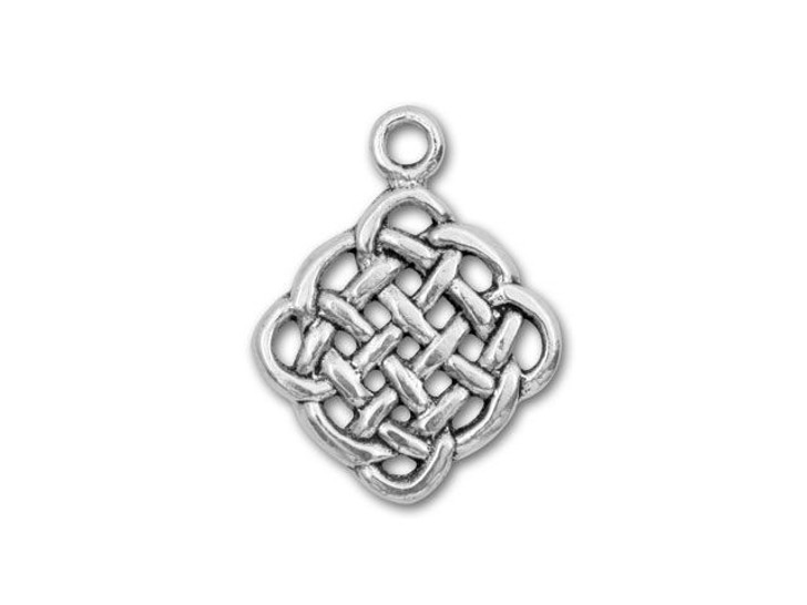 Sterling Silver Eternity Celtic Knot Charm