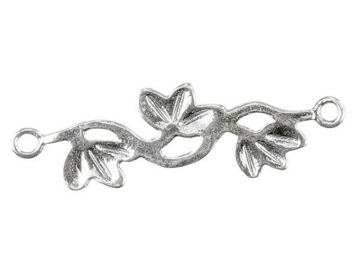 Sterling Silver Festoon Flower Link