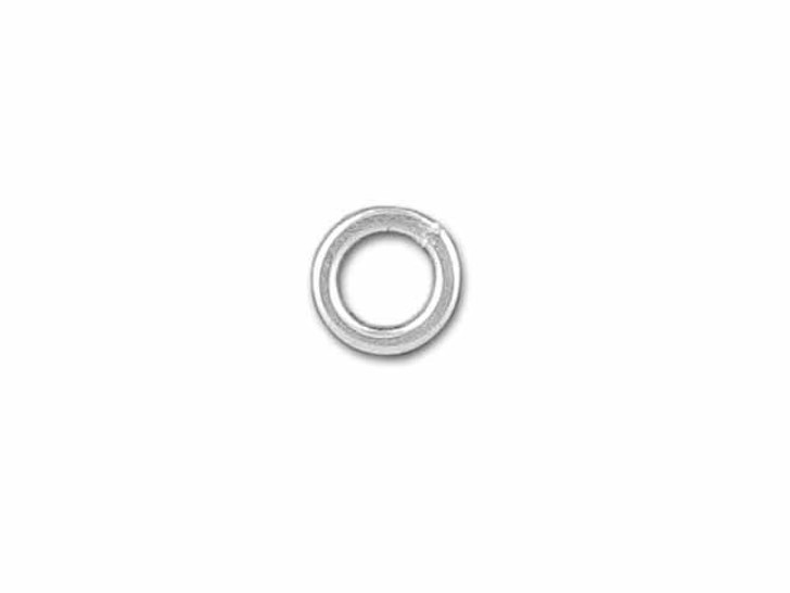 Sterling Silver Fine Closed Jump Ring (0.65x3mm)